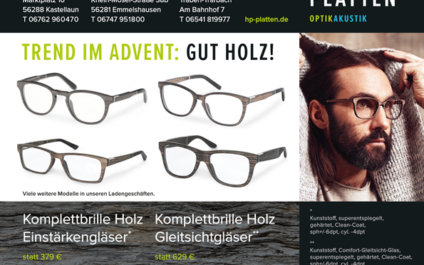 Trend im Advent: Gut Holz!