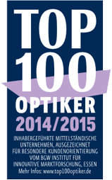 Top 100 Optiker 2014/2015