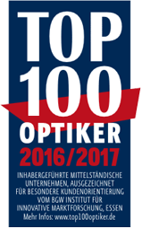 Top 100 Optiker 2016/2017